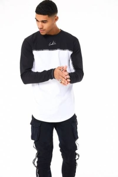 THE COUTURE CLUB TAPED LONG SLEEVE TEE